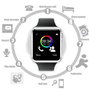 Montre Intelligente - Appel/texto/Podometre