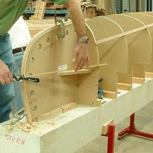 Cedar strip Canoe, plans, molds and instructions