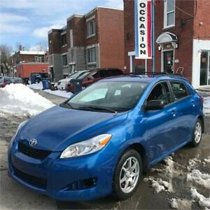 2009 TOYOTA MATRIX AWD 4X4 7980$ FINANCE MAISON 100% APPROUVÉ