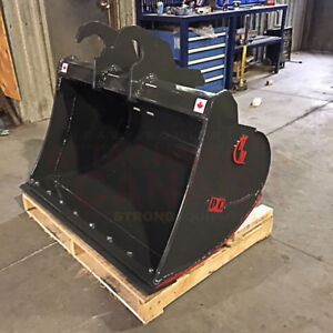 EXCAVATOR CLEAN UP BUCKET - CANADIAN BUILT - ALL SIZES