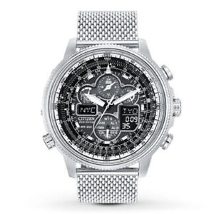 BRAND NEW Citizen ECO-DRIVE JY8030-83E Navihawk A-T ON SALE  (  6 ) YEAR WARRANTY AUTHORIZED DEALER   FREE SHIPPING