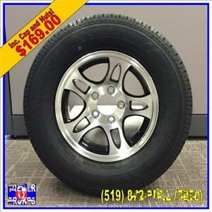 Ralix Trailer Dealership Custom Rims and Tires For All Trailers