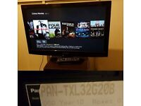 PANASONIC TX-L32G20B 32 INCH HD 1080P INTERNET LCD TV