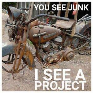 Looking for a old motorcycle project $$$