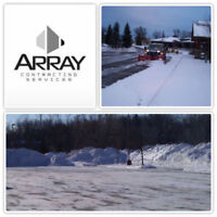 Commercial/ Residential Snow Removal Services