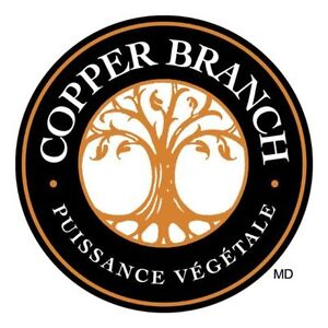 Managers & Supervisors - Copper Branch Plant-Based Restaurants