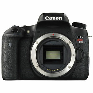 Canon EOS Rebel T6s DSLR Camera (Body Only) BRAND NEW