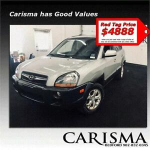 4x4 Automatic SUV ~ Hyundai Tucson GL~ Drive it home today