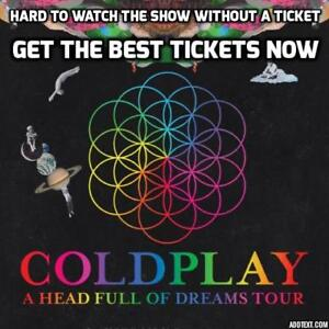 CHEAPEST SELLER ★★ COLDPLAY ★★Rogers Place, Tues Sep 26 7:00PM