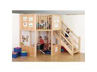 Playloft/ Mezzanine/ High Sleeper
