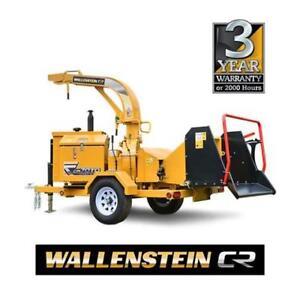 New Wallenstein CR70TD Heavy Duty Brush Chipper