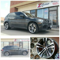 20x10 20x11 Replica Rims for BMW X5 X6 Call : 905 673 2828