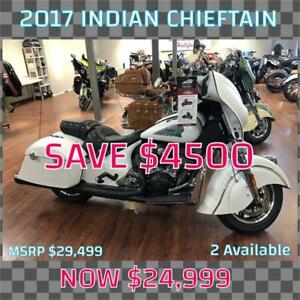 2017 Indian Chieftain ***SAVE $4000***