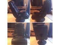 X-Rocker Pro Advanced 2.1 Gaming Chair, Black