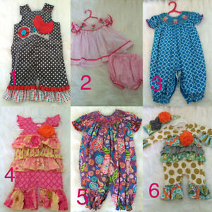 Boutique baby outfits