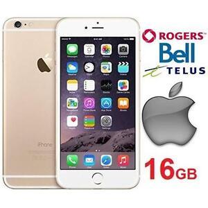 REFURB APPLE IPHONE 6 PLUS 16GB SMARTPHONE SMART PHONE GOLD 111671164