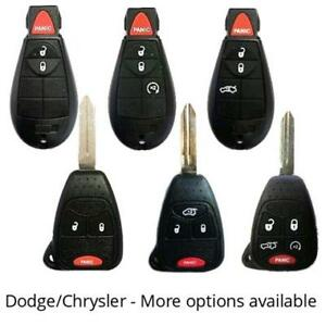 DODGE Car Truck KEY and REMOTES - WE SUPPLY CUT & PROGRAM
