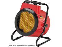 Clarke Devil 7003 3kW Industrial Electric Fan Heater