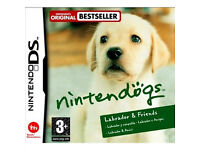 Nintendo DS Game - Nintendogs - Labrador and Friends & DS/DSI Charger