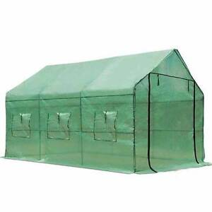 GREENHOUSE WITH GREEN PE COVER - 3.5M X 2M Sydney City Inner Sydney Preview