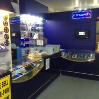 Cell phone and accessories retail store