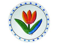 swedish Decorative Glassware Dish