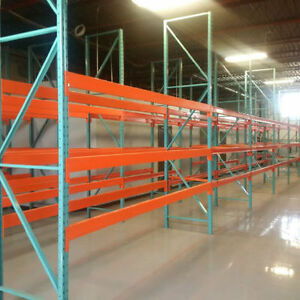 We sell warehouse pallet racking and industrial shelving