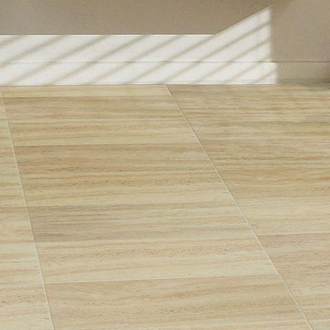 Wanted Leggiero Cream Travertine Tile Effect Laminate Flooring In