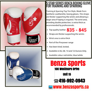 Boxing Gloves For Sale Only @ Benza Sports