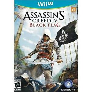 ASSASSINS CREED : BLACK FLAG Wii U BRAND NEW FACTORY SEALED