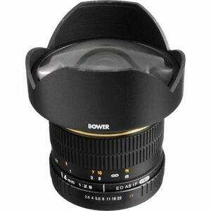 14mm f2.8 MANUAL LENS WITH SONY E-MOUNT ADAPTER $400/each
