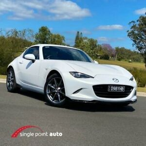 2017 Mazda MX-5 ND SKYACTIV-MT White 6 Speed Manual Roadster Chevallum Maroochydore Area Preview