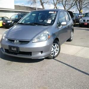 2008 Honda Fit DX. Certified & Emissions.