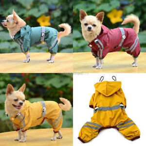 New Yellow Raincoat for Puppies or small dogs Size XS