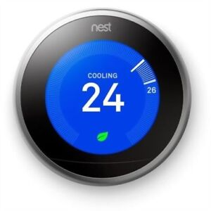 Nest T3007EF Learning Thermostat 3rd Generation Brand New
