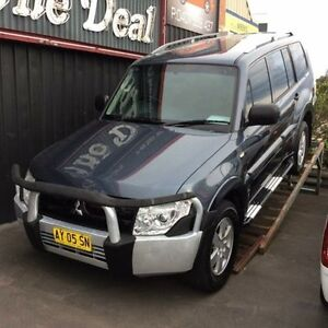 2008 Mitsubishi Pajero NS GLX LWB (4x4) Grey 5 Speed Manual Wagon Cardiff Lake Macquarie Area Preview