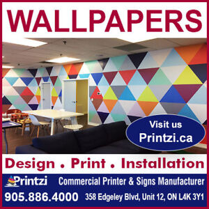Custom Wallpapers and Printed Wall Murals
