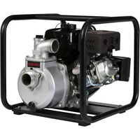 Brand New-Red Lion 2 inch gas powered water pump with 2 hoses