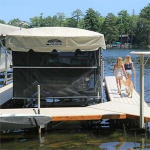Shorestation boat lift and accessories in stock starting at 3999