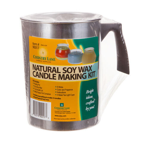 Country Lane - Natural Soy Wax Candle Making Kit