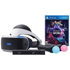 PS4 VR Launch Bundle + 3 Years warranty **New/Nouveau**