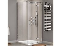 Empire hinged door shower enclose - BRAND NEW IN BOX