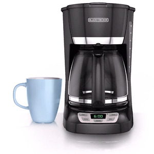 12cup black and decker coffee machine