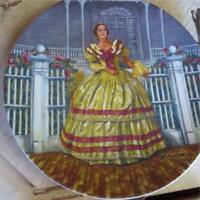 Gone With the Wind collector plates ''Ashley'' & ''Melanie''