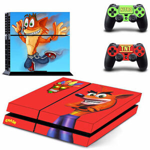 PS4 Console and controller skins