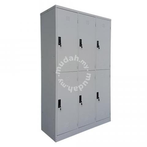 2 Compartments Steel Locker | Steel Furniture