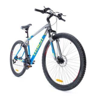 "Two 74cm (29"") adult push bikes & bike rack"