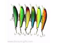 6PCS Fishing Lures