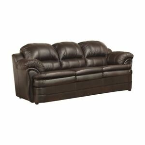 This is a Brand New 3 Piece Leather Sofa set only $1050