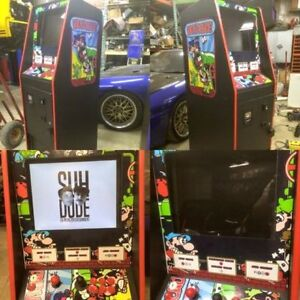 SINGLE PLAYER MULTICADE ARCADE CABINET THOUSANDS OF GAMES
